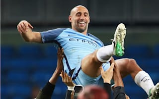 Emotional Zabaleta proud of 'wonderful nine years' at Manchester City