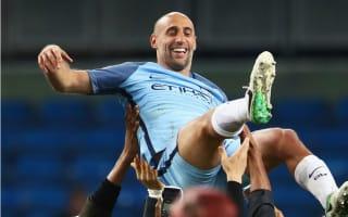 Emotional Zabaleta proud of 'wonderful nine years' at Manchester City