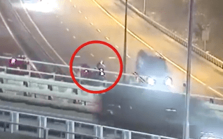 'Reckless' pizza delivery driver snapped crossing busy motorway