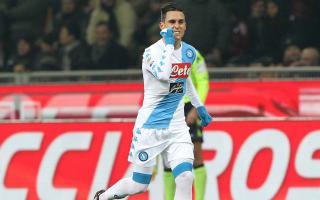 Callejon credits 'Maradona effect' as Napoli down AC Milan