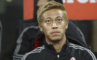 Honda adamant he will not leave AC Milan on his own accord