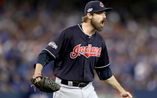 Indians' Miller sets postseason strikeout record