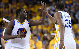 Warriors survive Conference finals opener as Spurs lose Leonard