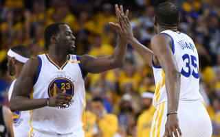 Warriors survive Conference finals opener as Spurs lose Leonard