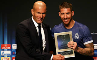 Zidane: Ramos the difference in Super Cup