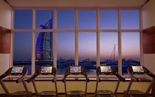 Hotel gyms with incredible views