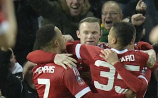 Rooney glad to have final say in United FA Cup scare