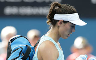 Injured Muguruza allays Australian Open concerns