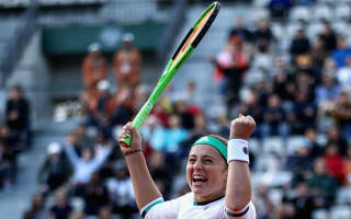 Surprise package Ostapenko sets up birthday clash with Bacsinszky