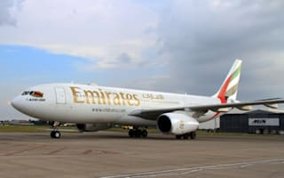Emirates plane emergency chute evacuation after cabin fills with smoke