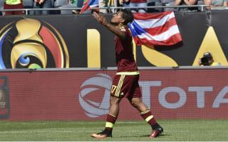 Jamaica 0 Venezuela 1: Martinez the difference against 10 men