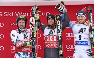 Pinturault pips Hirscher for season-opening Solden win