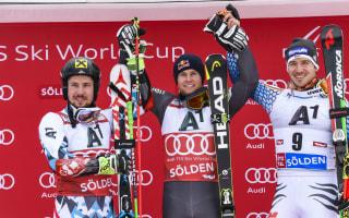 Pinturault pips Hirscher for season-opening Solden win