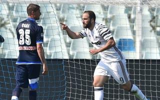Pescara 0 Juventus 2: Higuain at the double as Dybala suffers injury