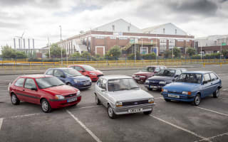 Ford celebrate 40 years of the Fiesta