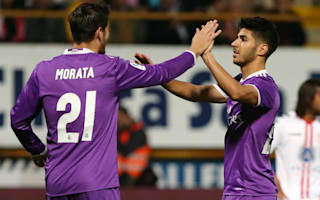Cultural Leonesa 1 Real Madrid 7: Morata and Asensio star in BBC's absence