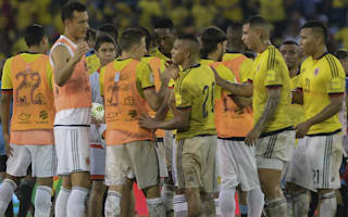 Pekerman can't fault Colombia players after draw