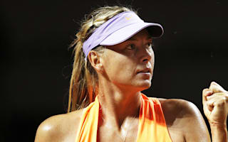 Sharapova inches closer to controversial Stuttgart crown