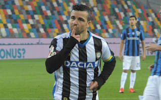 Udinese v Juventus: Di Natale eyes gift to mark champions showdown