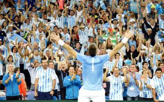 Del Potro rewarded as Argentina claim maiden Davis Cup title