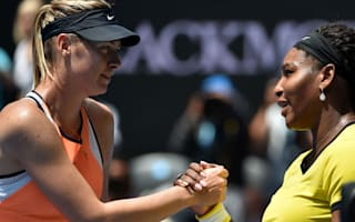 Williams praises Sharapova's 'courage and heart'