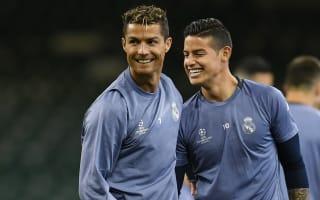 Cristiano Ronaldo mocks Real Madrid team-mate James Rodriguez's 'ugly' new haircut