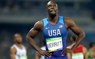 Rio 2016: Merritt inspired by world record as he looks to 200m