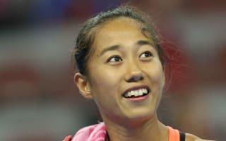 Zhang, Svitolina book Zhuhai semi-final slots