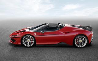 Ferrari unveils limited edition J50