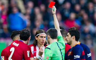 Filipe Luis has ban for Messi challenge reduced