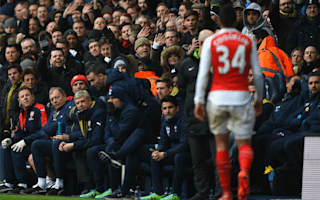 Coquelin apologises for derby dismissal