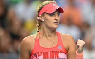 Mladenovic, Gavrilova untroubled in Charleston but Doi departs