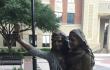 Für die Ewigkeit: Selfie-Bronze in Texas