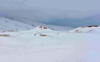 Sahara Desert sees biggest snowfall in living memory