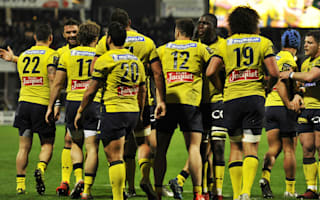 Clermont beat Bayonne to go top, La Rochelle win again