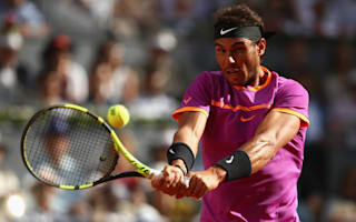 Early Almagro retirement sends Nadal through in Rome