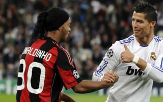 'More than deserved' - Ronaldinho congratulates Ballon d'Or winner Ronaldo