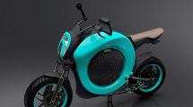 Konzept-Roller Grasshopper: Ein Donut auf zwei Rädern