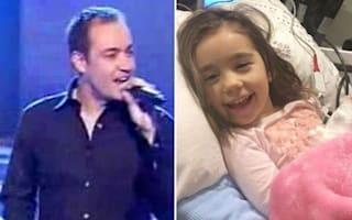 Pop star raising cash for daughter with inoperable brain tumour