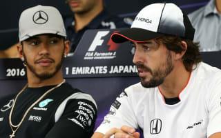 Hamilton's F1 data sharing comments strange - Alonso
