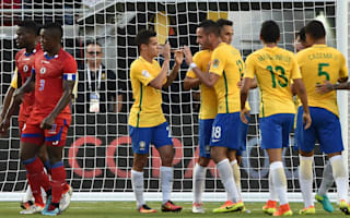 Brazil 7 Haiti 1: Coutinho hat-trick inspires Copa America rout