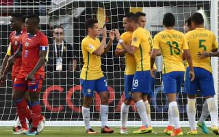 Brazil 7 Haiti 1: Coutinho hat-trick inspires Copa America rout