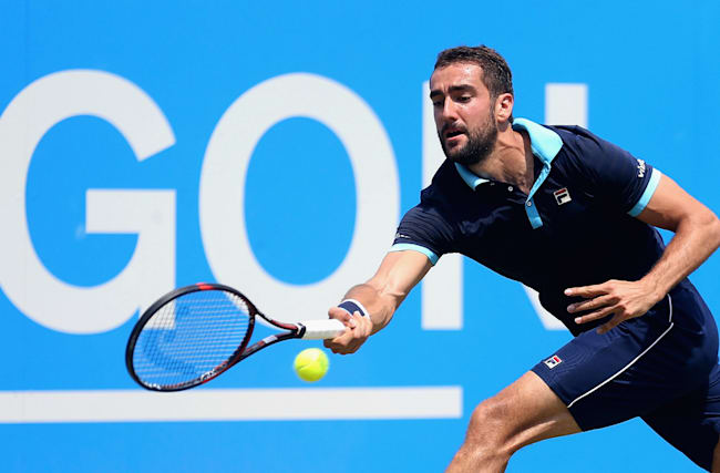 Cilic and Dimitrov through to Aegon Championships semi-finals