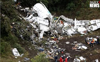 The pilot of the Colombian plane crash 'said it ran out of fuel'