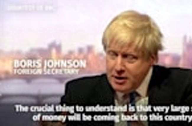 Boris Johnson: Talk of payments for EU single market access 'is speculation'