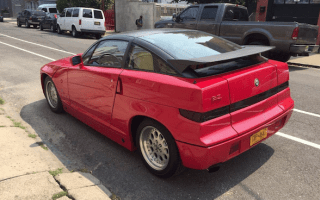 Rare 1990 Alfa Romeo SZ comes up for sale in New York