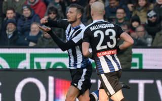 Udinese 2 AC Milan 1: De Paul strike adds to Rossoneri woes