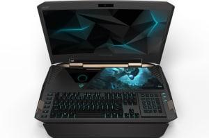 Acer presenta sus nuevos portátiles incluyendo uno con pantalla curva