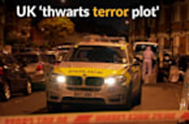 British police 'foil terror plot'