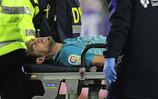 Busquets sustains ankle ligament damage in Eibar v Barcelona